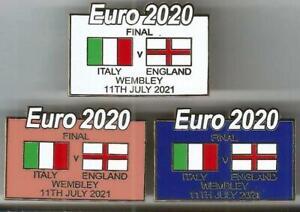 Euro 2020 Final ~ Italy v England ~ Match Badge