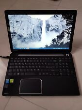 Notebook Toshiba L50A1D6 Intel core i7 4GB Nvidia GeForce 920M 120GB SSD Samsung