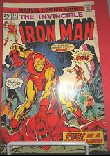 THE INVINCIBLE IRON MAN #73 MARCH MARVEL COMICS