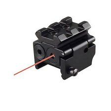 Mini Adjustable Compact Red Dot Sight/Laser Fit For Pistol with Rail Mount 20MM