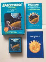 Atari 2600 VIDEO GAME ~ Spacechase by Apollo ~ Boxed