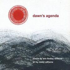 Dawn's Agenda by Ann Findlay Williams (2013, Paperback)