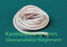 Kamindichtung, Ofendichtung Kordel 6 mm Durchmesser  rund 3 m lang weiß