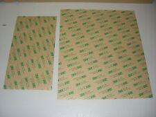 1 Bogen 3M 467MP Klebstoffilm doppelseitiges Klebeband Klebestreifen 300mmx250mm