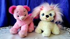 PINK & CREAM PUPPY SURPRISE MOMMY DOG & 2 BABIES OR Talking Pink Barbie Dog