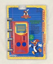 Woody Woodpecker LCD Electronic Notebook Handheld Game Manley Toy Quest NEW NIB