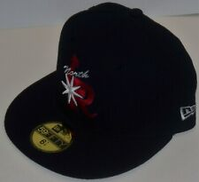 Vintage New Era MiLB Arkansas Travelers North Little Rock Cap hat 59Fifty navy