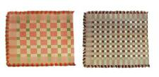 Two Overshot Coverlets. Lot 626