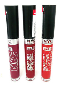 NYC EXPERT LAST  MATTE LIP LACQUER matte finish choose a shade