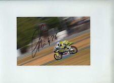 Adrian Martin Aprilia Moto 125 French GP 2011 Signed Photograph