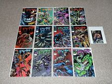 1990s Image/Full Bleed 12 Pitt Comics Signed by Dale Keown 1-5, 7-11, 13-14 Lot