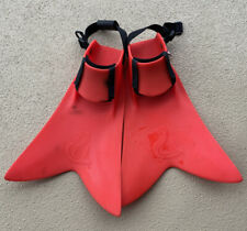 Force Fin Scuba Fins Red