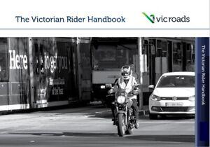 The Victorian Motorbike Rider Handbook VIC Roads Motorcycle Learner Book Latest