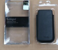 more Letique Collection Leather Case for iPhone 5/5S/SE w/Screen Protector NEW