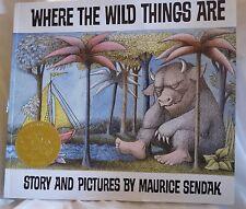 WHERE THE WILD THINGS ARE~Maurice Sendak ~ 50th Anniversary ~ Caldecott ~1+ SHIP