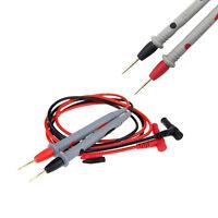 P1300C//1000V 10A//20A Universal Digital Multimeter Test Lead Probe Wire Pen *#