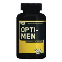 Optimum Nutrition Opti-Men Daily Multi Vitamin Health Supplement - 90 Caps
