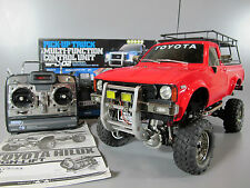 Tamiya 1/10 R/C Toyota Hilux High Lift + Futaba +MFC-02 light sound unit + Extra