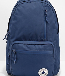 Converse Go Backpack Unisex Navy Blue - 10007271-A02