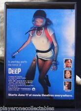 "The Deep Movie Poster - 2"" X 3"" Fridge / Locker Magnet. Jacqueline Bisset"