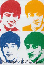 PETER BLAKE HAND SIGNED 6X4 PHOTO ART MEMORABILIA THE BEATLES.