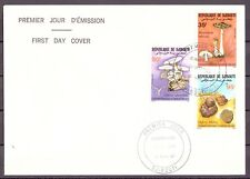 Dschibuti MiNr. 488-90 Ersttagsbriefe/ FDC Pilze (Pi10