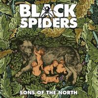 "Black Spiders : Sons of the North VINYL 12"" Album Coloured Vinyl (2011)"