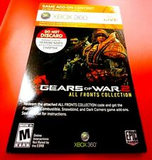 ALL FRONTS COLLECTION GEARS OF WAR 2 XBOX 360 DLC ADD-ON GAME CONTENT # 36