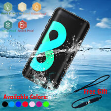 Samsung Galaxy S9 Note 8 S8+ 360 Full Waterproof Life Proof Soft TPU Case Cover
