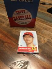 SHOHEI OHTANI 2018 TOPPS living SEALED New in Box 5 Rookie Lot LA Angels