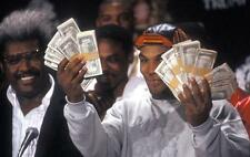 Mike Tyson Press Conference Photo Money Shot for 1989 Fight Vs. Carl Williams