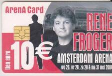 Amsterdam Arena Card 2004 Rene Froger 10 Euro wo26 vr28 za29 ma31 2004