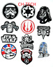 Embroidered STAR WARS MOVIE CARTOON Collection mix iron/sew on badges Patches