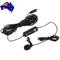 BOYA BY-M1 Lavalier Microphone For Mobile Phone DSLR Camera Camcorder Black New