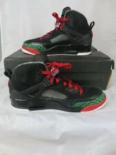 Nike Air Jordan Spizike Size 10.5 Black Varsity Red Green Sneakers Shoes New