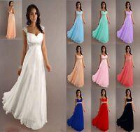 Abendkleid Ballkleid Brautjungfernkleid Kleid Lila A1223L 34 sofort lieferbar
