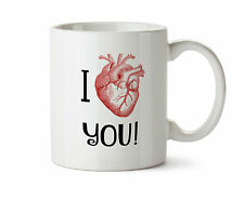 Anatomical Heart New Coffee Tea Mug 11 oz Anatomy I love you Gift Geek Science