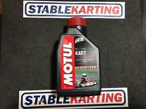 Go Kart - Motul Kart Grand Prix Oil 1 Litre 100% Synthetic - NEW