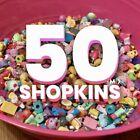 Shopkins Lot Of 50 - Season 1 2 3 4 5 6 7 9 Charms! FREE SHIPPING! No Duplicates For Sale