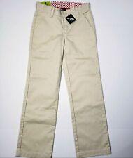 d0bce38fd NWT Gap Kids Stretch Superlastic Beige Pants Girls 12 Slim School Uniform