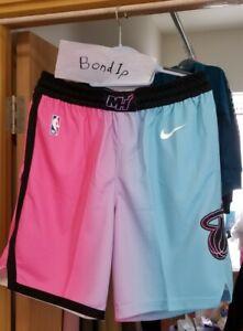 Nike 2020/21 Miami Heat city Edition Swingman Shorts Size XL vice versa