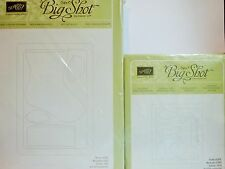 Stampin Up HOLIDAY STOCKING die & STOCKING ACCENTS Bigz Sizzix die Christmas