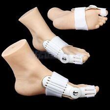 2PC Day & Night Bunion Splint Big Toe Corrector Hallux Valgus Straightener Foot