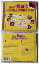 DIE KULT SCHLAGERHITPARADE Andrea Berg,Nina & Mike,Roland Kaiser .SONY DO-CD NEU