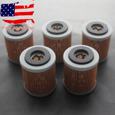 5x Oil Filter for Yamaha Big Bear 346 350 384 YFM350FW 1986 1987 1988 1989-1999