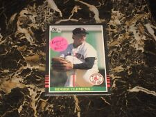 1985 DONRUSS ROOKIE CARD FROM ROGER CLEMENS NO.273 NM-MT B.V. $65