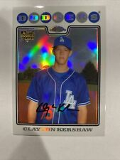 CLAYTON KERSHAW 2008 Topps Update Chrome #CHR30 Refractor RC ROOKIE