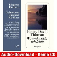 Hörbuch-Download (MP3) ★ Henry David Thoreau: Wo und wofür ich lebe