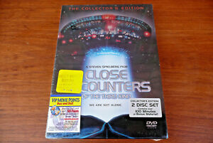 CLOSE ENCOUNTERS Of 3rd KInd ~ Collectors Edition 2 Disc Set New Sealed DVD 2001