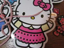 Hello Kitty Stitch and Sew Lacing Cards by Sanrio